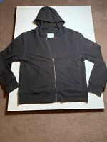 Country Road Zip Up Hoodie. Large. Charcoal Ribbed. Great Condition