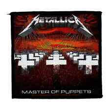 Metallica official Woven Parche MASTER OF PUPPETS Parche U. S. Heavy Thrashmetal