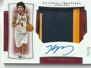 2019 Panini National Treasures Kevin Porter Jr. Rookie Patch Auto /75