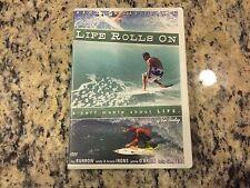 LIFE ROLLS ON VERY GOOD DVD SURFING KELLY SLATER, ANDY & BRUCE IRONS, TAJ BURROW