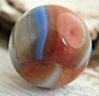 "Vintage Peltier Burnt Liberty Marble .62"" Liberty Marble  #72"