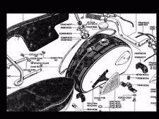 BSA A65 A50 TWINS PARTS MANUAL for Lightning Scrambler Firebird Thunderbird