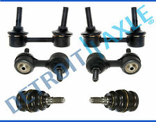 For Subaru Forester Impreza 6pc Front Lower Ball Joints & Sway Bars Excludes WRX