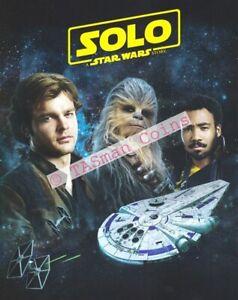 Stamp Pack Australia 2018 Hans SOLO Star Wars Sheetlet