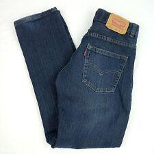 Levi's 511 Slim Boy's Jeans Size 14 Regular 27W/27L Zip Fly Blue Zip Fly