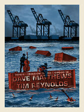 Dave & Tim poster Paramount Theatre Oakland, Ca 1/16/15 Dave Matthews Band