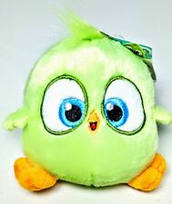 NEW Angry Bird Hatchlings Green Bird Clip on Plush Doll Toy Kids 4.5 inches CUTE