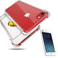 Hybrid 360° Shockproof Case Tempered Glass Cover For Apple iPhone 6 6s 7 Plus