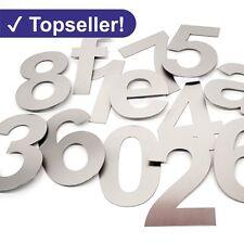 17 cm Hausnummer aus Edelstahl V2A Hausnummern NEU VA