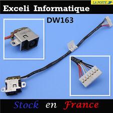 Dc power jack socket cable wire dw163 HP pavilion DV7-6168NR DV7-6175US
