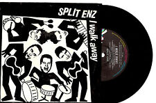 "SPLIT ENZ - I WALK AWAY / OVERDRIVE - RARE 7"" 45 VINYL RECORD PIC SLV 1984"