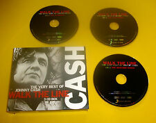 "3 CDs "" JOHNNY CASH - THE VERY BEST OF "" 36 SONGS (I WALK THE LINE)"