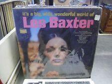 Les Baxter It's A Big Wide Wonderful World vinyl LP Sears Records EX IN Shrink