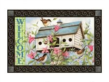 Magnet Works Spring Birdhouse with Clematis MatMate