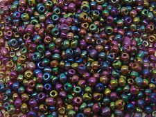 100g x Approx 4mm Size 6/0 Glass Seed Beads Jewellery Beading PICK COLOUR ML