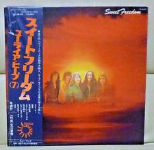 Japan 1973 Perfect set> Uriah Heep/Sweet Freedom <YZ-46-BZ   Free Shipping