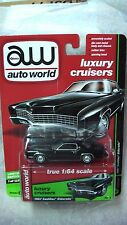 AUTO WORLD 2017 1/64 67 CADILLAC ELDORADO BLACK LUXURY CRUISERS R2 B NEW RARE