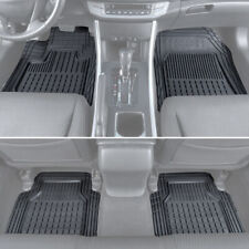 4pc Set Motor Trend Car Floor Mats All Weather Rubber Semi Custom Fit Heavy Duty Fits 2012 Toyota Corolla