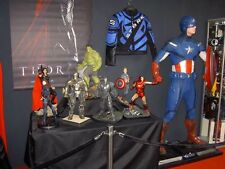 Studio Oxmox Captain Amerika  Life size Statue mit LED s Mark