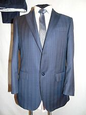 JOHN BRAY -LONDON FAB HAND TAILORED LORO PIANA 120's WORK SUIT UK 40 EU 50
