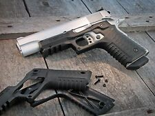 Recover Tactical CC3 H 1911 Grips & Rail System  Black
