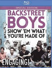 BACKSTREET BOYS : SHOW 'EM WHAT YOU'RE MADE OF -  Blu Ray - Sealed Region free