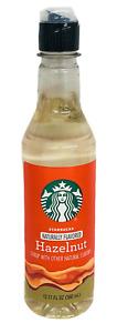 Starbucks Hazelnut Flavored Syrup 12.17 oz