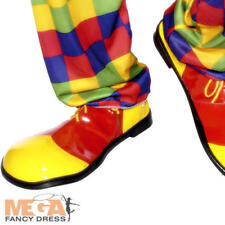 Clown Shoes Mens Fancy Dress Carnival Novelty Circus Adults Costume Accessory