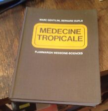 Medecine Tropicale FRENCH Gentilini/Duflo 1977 2nd Edition FREE US SHIPPING Rare