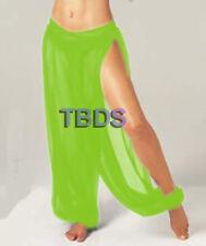 Women Student 1Slit Harem Yoga Genie Trouser Belly Dance Pant Size S~3XL 25Color