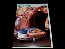 Renault Megane Kombi prospekt/brochure 1999