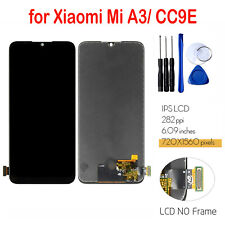 For Xiaomi Mi A3 / CC9E Phone LCD Display Touch Screen Digitizer Assembly Repair