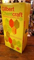 Vtg 1970 Gilbert Chemcraft Portable Action Lab Chemistry Metal Box Only