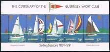 Guernsey postfris 1990 MNH block 7 - Zeilboten (X215)