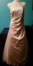 Formal gown from David's Bridal, wedding, prom dress, winter formal, bridesmaid