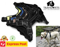 Pro Dog Harness No Pull Pet Reflective Outdoor Adventure Padded With Handle 3M