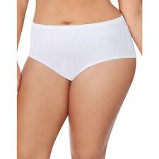 Size 14 Hanes Hi Cut Panties 5 Pack JMS Womens Tagless No Ride Underwear 1640C5