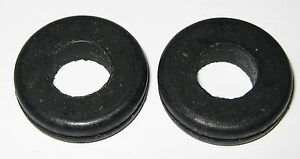 """2 X Rubber Grommet Fits 7/8"""" Diameter Hole and 1/16"""" Thick Panel - 1.065"""" OD"""