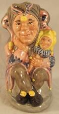 Royal Doulton Small Toby Jug The Jester D6910 Ltd Ed #39 / 2500 with COA