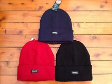 BRAND NEW MENS THINSULATE INSULATION BLACK, RED, NAVY BLUE BEANIE