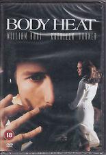 Body   Heat   -  William   Hurt,   Kathleen   Turner   New   &   Sealed  R2  DVD