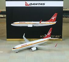 "Gemini Jets Qantas ""Retro Color"" Boeing B737-800W 1/200"