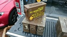 AMMUNITION BOXES PRICED EACH TOOL STORAGE GARAGE EQUIPMENT MILITARY VEHICLES