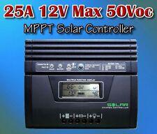 MPPT Solar Laderegler Solarreglar max 25A 300w 12v LCD regulator controller