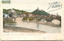 1905 Torino Ponte Vittorio Emanuele I Chiesa Gran Madre Dio Chambery FP COL VG