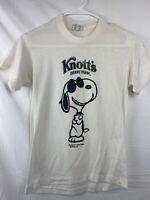 Snoopy Vintage T Shirt Knotts Berry Farm 1970s Era Size S