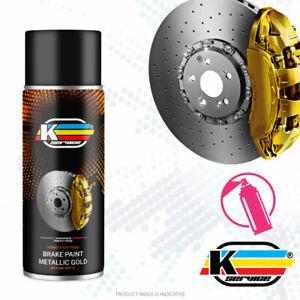 BREMSSATTELLACK metallisches Gold spray Bremssattel Lack hitzebeständig