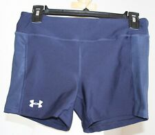 under armour Navy volleyball, dance, workout shorts size Medium EUC