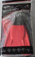 Speedo Switch Blade SWIM Fin Black/Red, Size MEDIUM,  775304