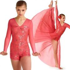 KELLE Company Medium Adult Silver Jazz Lyrical Dance Costume